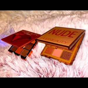 Huda Beauty Bundle: Nude Obsession + Topaz🎨s! NIB